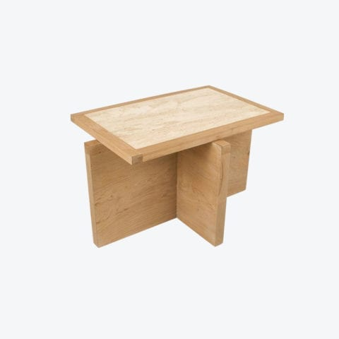 Table d'appoint Travertin