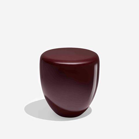 Dot Deep Garnet Side Table