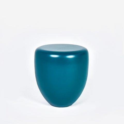 Dot Peacock Blue Side Table