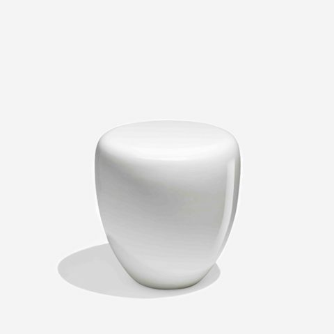 Table d'Appoint Dot Blanc