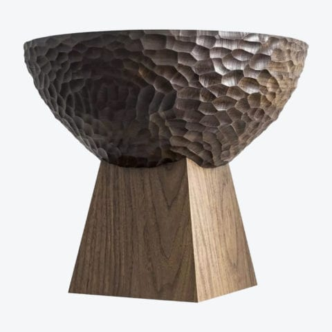 SKS01 Walnut Small Side Table