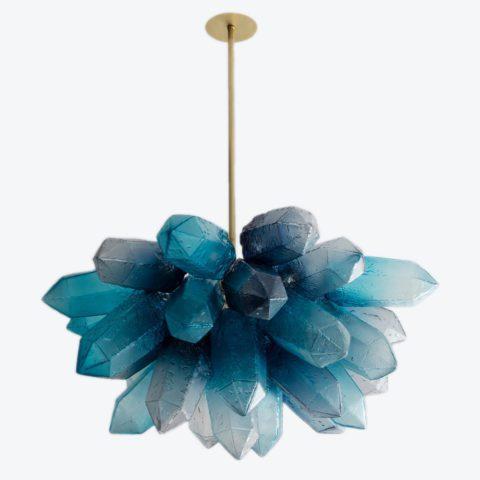 Crystal Cluster Blue