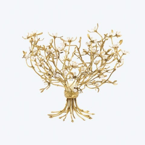 Mistletoe Candelabrum