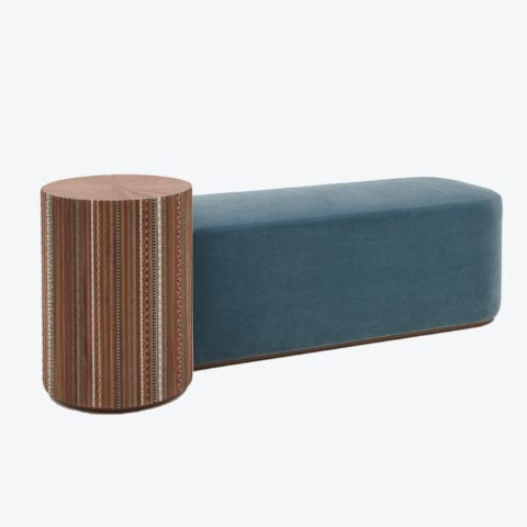 Funquetry Pleated Bench
