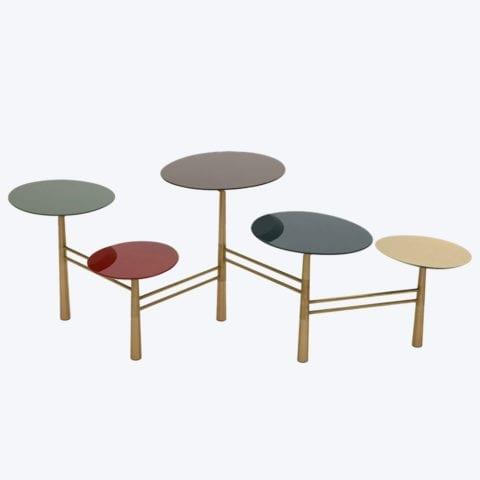 Pebble Coffee Table Tapis D'Orient
