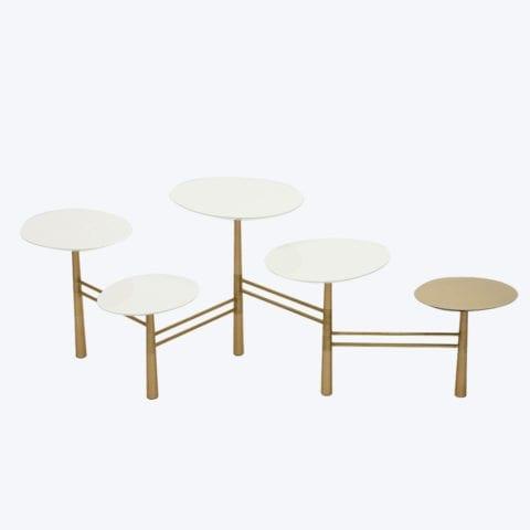 Pebble Coffee Table White