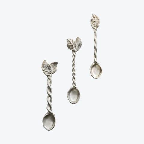Three Coffee Spoons