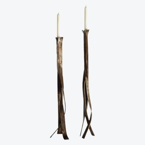 Nastro Tall Candle Holder