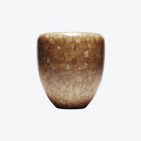 Dot Dark Brown Eggshell Side Table