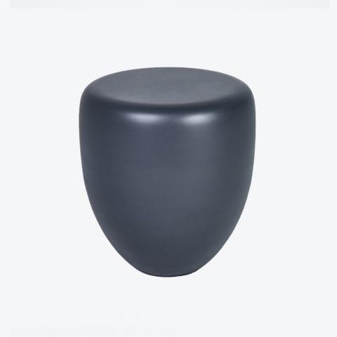 Mat Dot Slate Grey Side Table