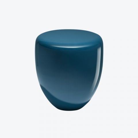 Table d'Appoint Dot Bleu Paon