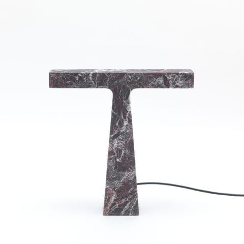 The Invisible Collection Bruchi Table Lamp Levanto Rosso MMairo