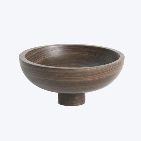 Inside Out Tobacco Brown Bowl