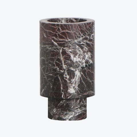 Vase Inside Out Rosso Levanto
