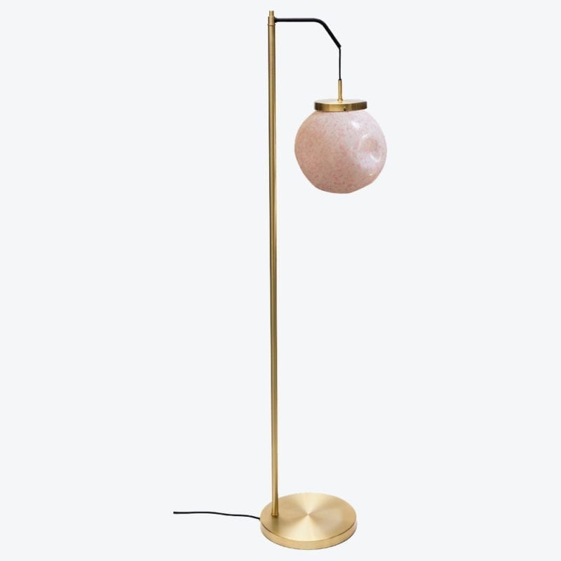 The Invisible Collection Floor Lamp King Sun Murano Pink Pierre Gonalons