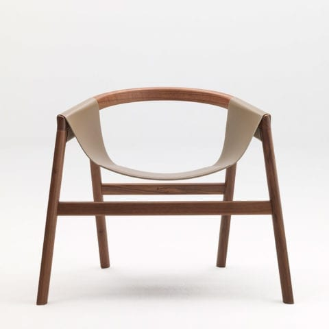 The Invisible Collection Lio Console David Haymann Walnut Nuyer Chêne Oak Leather Cuir