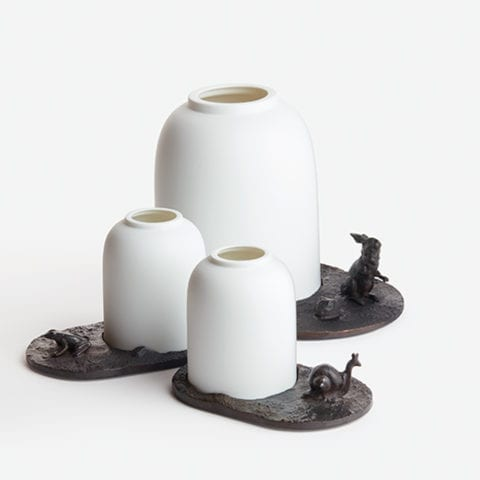 The_Invisible_Collection_Creations_Dragonfly_Fable_Des_Etangs_Candle_Holder_Large_Rabbit_Small_Frog