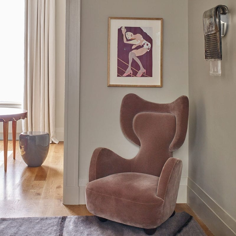 The Invisible Collection Armchair Dumbo Made in France