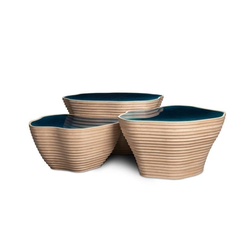 The Invisible Collection Les Antilles Coffee Tables Julien Lagueste