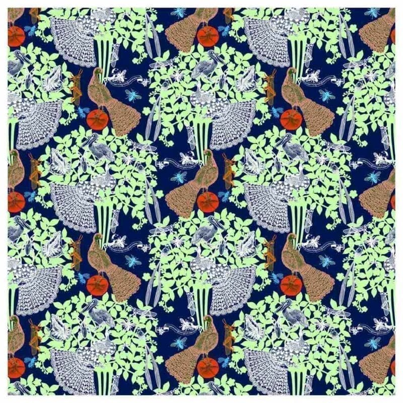 Wallpaper Noctambule No.1 by Michaël Cailloux - The Invisible Collection