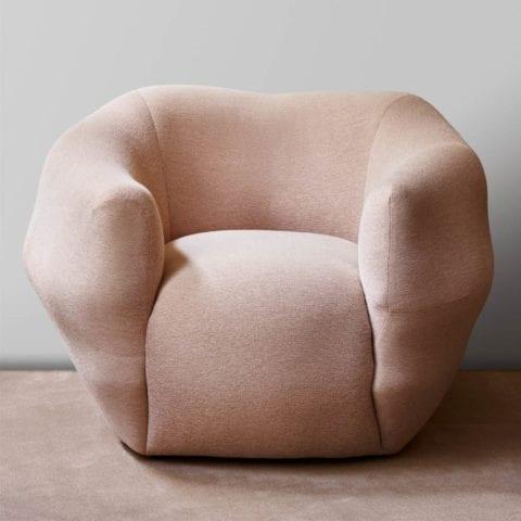Pink Asymmetry Armchair