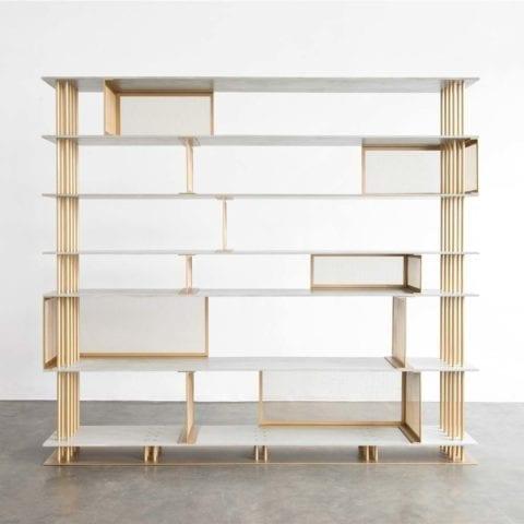 Bibliothèque Cortland pat Atelier d'amis - The Invisible Collection