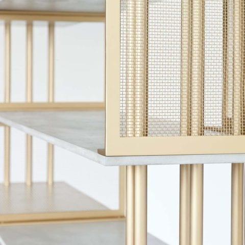 Bibliothèque Cortland par Atelier d'amis - The Invisible Collection