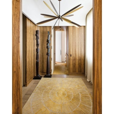 Zenith rug by Damien Langlois Meurinne, DLM - The Invisible Collection