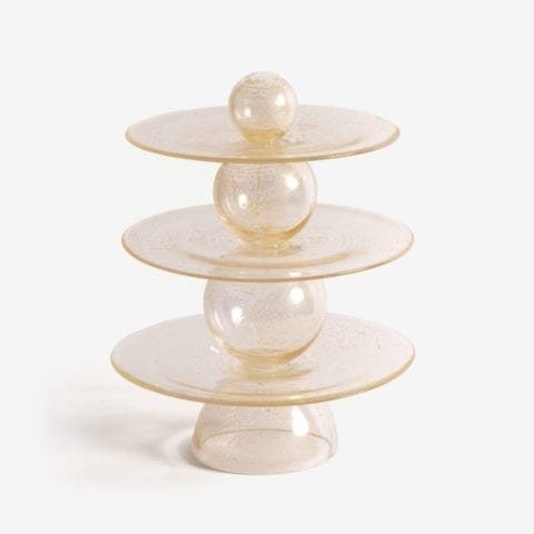 Elementary Particles Cake Stand