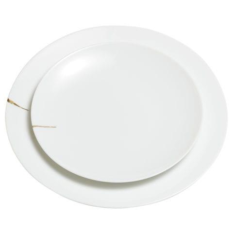 Assiette Kintsugi Charentais XL