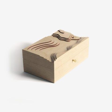 Topography Cigar Box