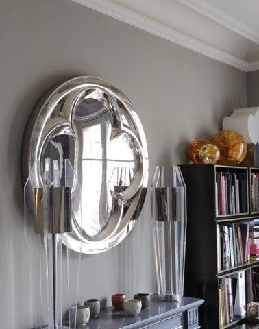 Gothic Sculpture mirror effect by Eric Allart - The Invisible Collection