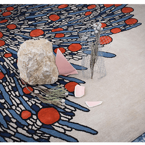 Bouquet Rug by Atelier Février - The Invisible Collection