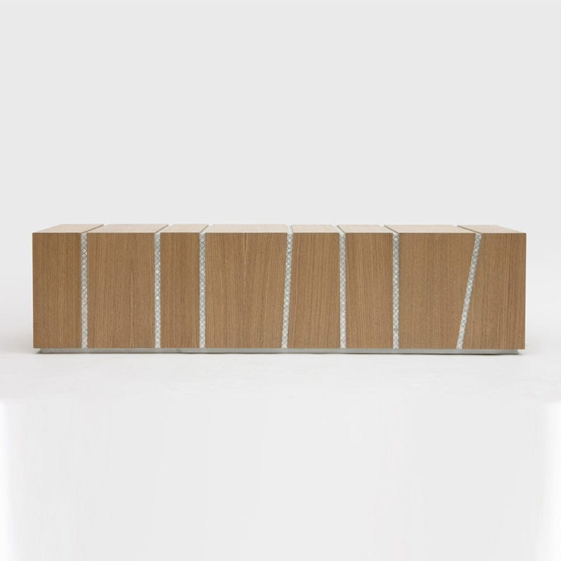 The Invisible Collection Draw the line benches by Nada Debs