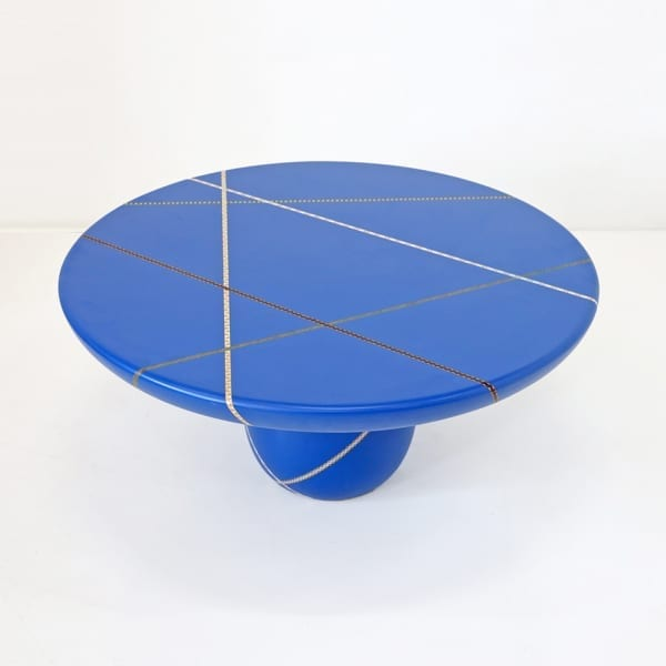 Marquetry Mania Low Table by Nada Debs