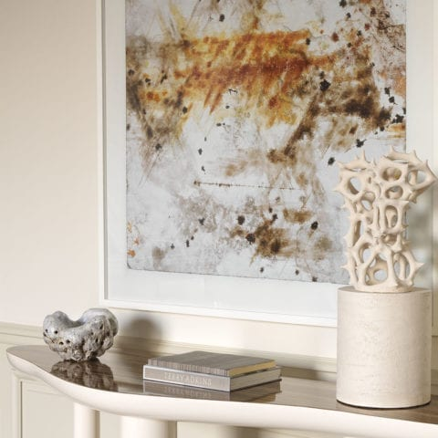 Console smooth wave by Damien Langlois-Meurinne, DLM - The Invisible Collection