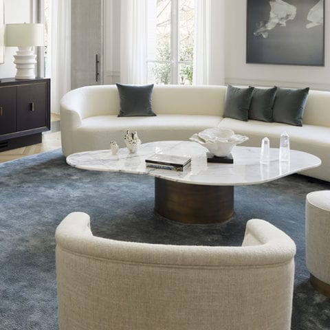 White Shadow Coffee Table