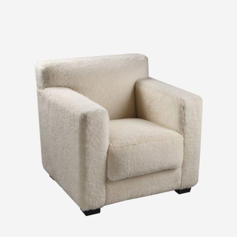 Armchair Upholstered Back 1932