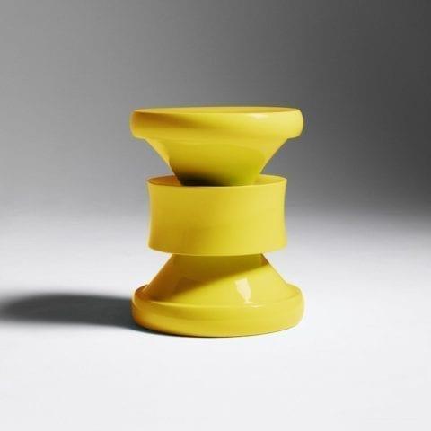 Barth Stool Les Intemporels Yellow