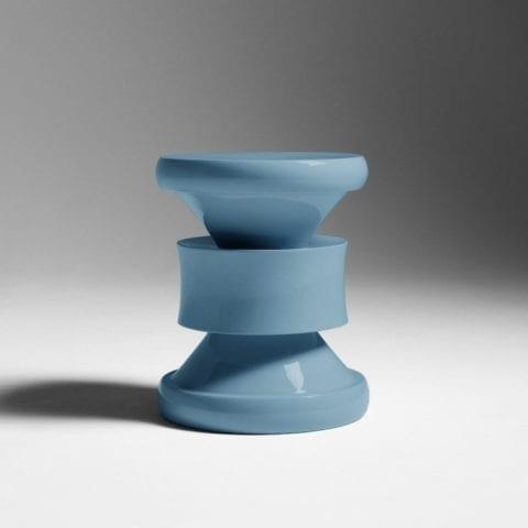 Barth Stool Les Intemporels Blue-Grey