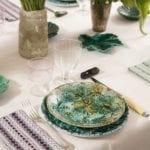 Barbotine Dinner Set – SOLD