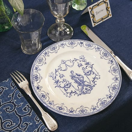 Moustiers Dinner Set – SOLD