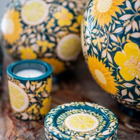 The Invisible Collection Coloniale Lemon Insect Bowl Michael Cailloux