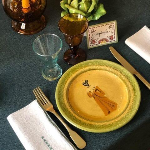 Provençal Dinner Set – Sold
