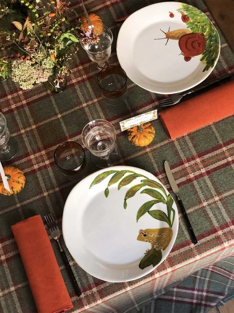 The Invisible Collection Thanksgiving Dinner Set for 12 Diner en Ville