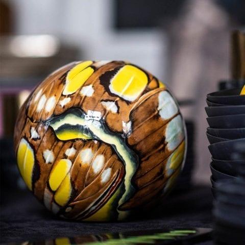 Astro Flo Ball Vase