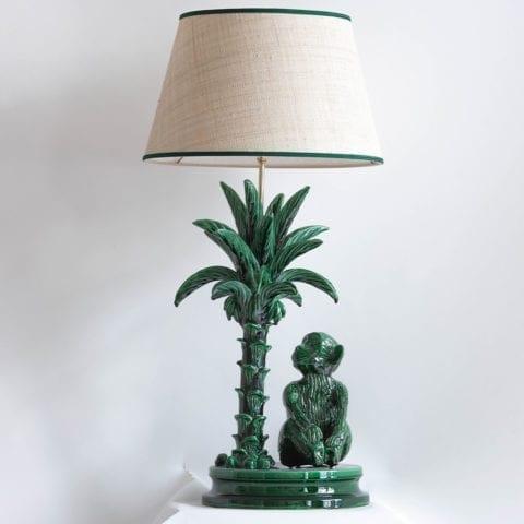 Lampe Singe au Palmier