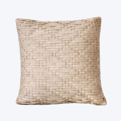 Basket Weave Cushion Cover