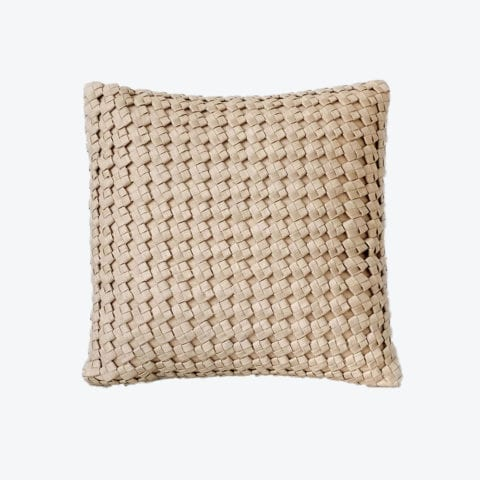 Square Knot Weave Coussin