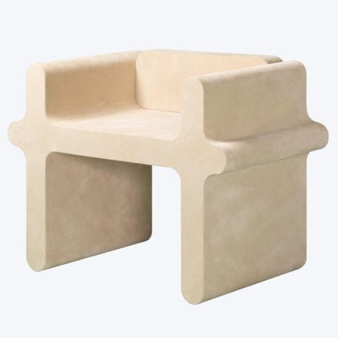 Chaise N°2 Ossicle Cuir